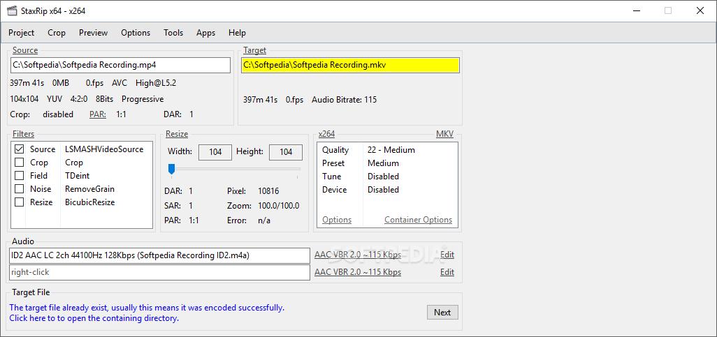 Download StaxRip 2 0 2 4
