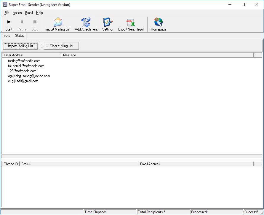 Download Super Email Sender 6 51