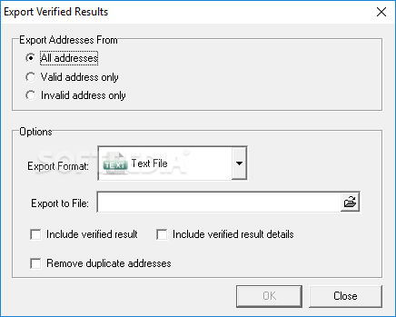 Email verifier professional activation code