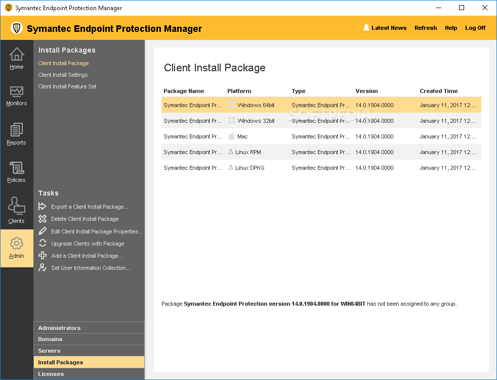symantec endpoint protection 14.2 full download
