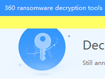 Download 360 Ransomware Decryption Tools 1 0 0 1240