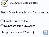 DOLBY DIGITAL AC-3 CODEC ACM DRIVERS DOWNLOAD (2019)