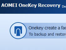 Download AOMEI OneKey Recovery 1 6 2