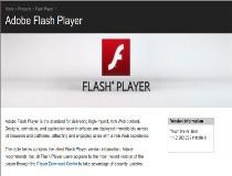 Adobe Flash Player for 64-bit Screenshot