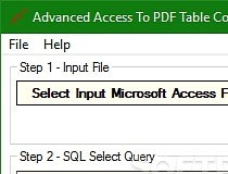 Download Advanced Access To PDF Table Converter 1 7