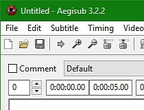 Download Aegisub 3 2 2