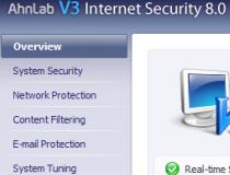 Ahnlab free antivirus
