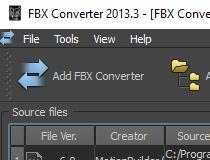 Download Autodesk FBX Converter 2013 3