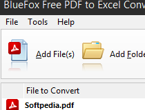 Download BlueFox Free PDF to Excel Converter 10 8 2 4