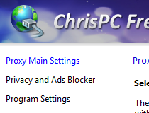 chrispc free anonymous proxy software
