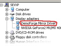 DEMOFORGE MIRAGE MIRROR DRIVERS UPDATE