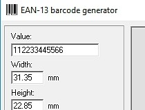EAN-13 Barcode Generator Download