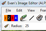 Evan's Image Editor  screenshot