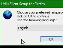 Download Utilu Silent Setup for Mozilla Firefox 1 0 2 9