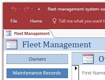 Fleet management system access database templates download fleet management system access database templates screenshot pronofoot35fo Image collections