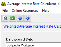 download free average interest rate calculator 4 5 1