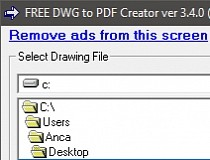Download Free DWG to PDF Creator 3 4 0