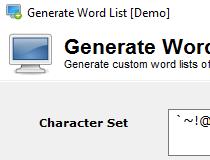 Download Generate Word List 1 0