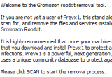 gromozon rootkit removal tool