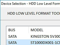 hdd low level format full