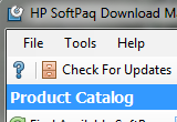 Download HP SoftPaq Download Manager 3.2.0.0 REV. A