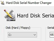 Download Hard Disk Serial Number Changer