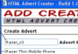 Html Advert Creator Screenshot
