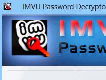 Download IMVU Password Decryptor 3 0