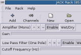JACK Rack 1.4.7 screenshot