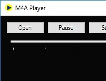 Download M4A Player 1 0 1