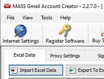 Download MASS Gmail Account Creator 2 2 5