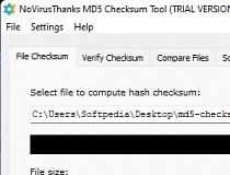 Download NoVirusThanks MD5 Checksum Tool 4 3 0 0