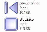 Download Media Player Control Icons