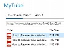 Download MyTube 4 0 0 Beta