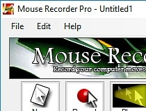 Download Mouse Recorder Pro 1 3