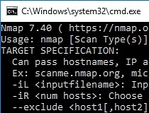 XP WINDOWS TÉLÉCHARGER NMAP