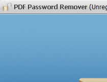 For remover pdf xp password