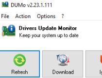 Portable DUMo Screenshot