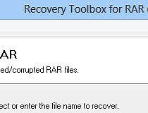 Download Recovery Toolbox for RAR 3 0 0 0