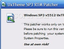XP TÉLÉCHARGER PATCH SP3 POUR WINDOWS UXTHEME