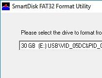 Usb disk storage format tool 223 castrophotos.