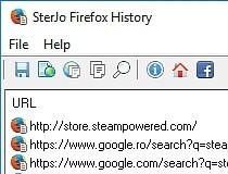 Download SterJo Firefox History Portable 1 0