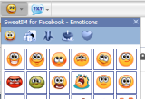 sweetim for facebook emoticons
