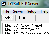 typsoft ftp server 1.10 free download