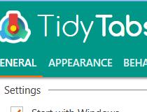 Download TidyTabs 1 10 0