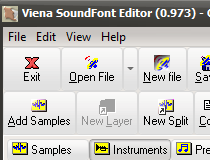 Download Viena SoundFont Editor 1 131