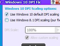 Download Windows 10 DPI Fix 2 2