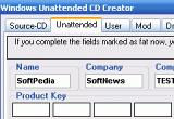 Download Windows Unattended CD Creator 1 0 2 Beta 10