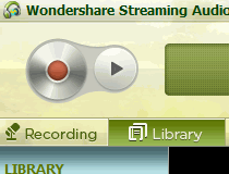 wondershare streaming audio recorder not recording