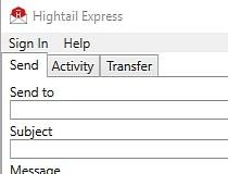 Hightail Express (formerly YouSendIt Express) Screenshot